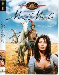 DVD O HOMEM DE LA MANCHA - SOPHIA LOREN