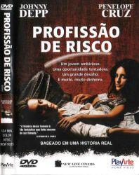 DVD PROFISSAO DE RISCO - JOHNNY DEPP