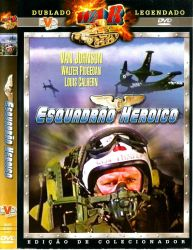 DVD ESQUADRAO HEROICO - VAN JOHNSON
