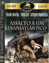 DVD ASSALTO A UM TRANSATLANTICO - FRANK SINATRA