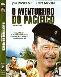 DVD O AVENTUREIRO DO PACIFICO - JOHN WAYNE