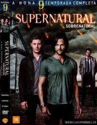 DVD SUPERNATURAL - 9 TEMP - 6 DVDs