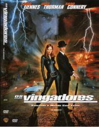 DVD OS VINGADORES - SEAN CONNERY