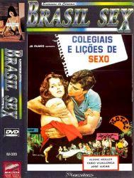 DVD COLEGIAIS E LIÇOES DE SEXO - PORNOCHANCHADA