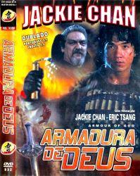 DVD ARMADURA DE DEUS - JACKIE CHAN