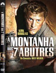 DVD A MONTANHA DOS 7 ABUTRES - KIRK DOUGLAS