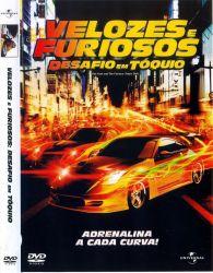 DVD VELOZES E FURIOSOS - DESAFIO EM TOQUIO