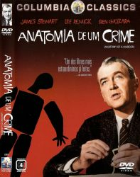 DVD ANATOMIA DE UM CRIME - JAMES STEWART