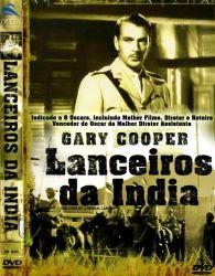 DVD LANCEIROS DA INDIA - GARY COOPER