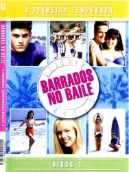 DVD BARRADOS NO BAILE - 1 TEMP - 6 DVDs