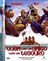 DVD QUEM TEM UM AMIGO TEM UM TESOURO - TERENCE HILL