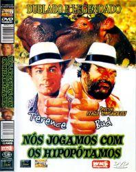 DVD NOS JOGAMOS COM OS HIPOPOTAMOS - TERENCE HILL