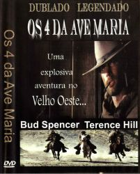 DVD OS 4 DA AVE MARIA - TERENCE HILL