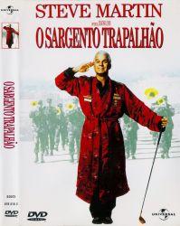 DVD O SARGENTO TRAPALHAO - DUBLADO