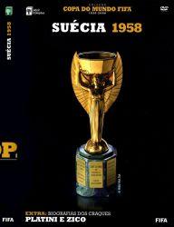 DVD COPA DO MUNDO FIFA SUECIA - 1958