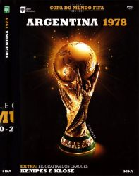 DVD COPA DO MUNDO FIFA ARGENTINA - 1978