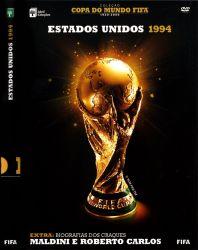 DVD COPA DO MUNDO FIFA ESTADOS UNIDOS - 1994