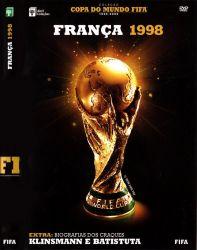 DVD COPA DO MUNDO FIFA FRANÇA - 1998