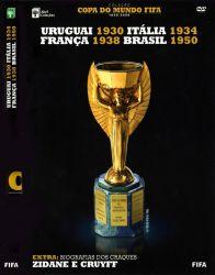 DVD COPA DO MUNDO FIFA - 1930 - 1934 - 1938 - 1950