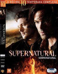 DVD SUPERNATURAL - 10 TEMP - 6 DVD