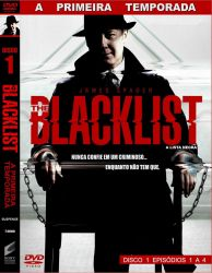 DVD THE BLACKLIST - 1 TEMP - 6 DVD