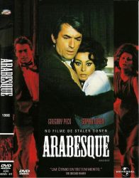 DVD ARABESQUE - 1966 - GREGORY PECK