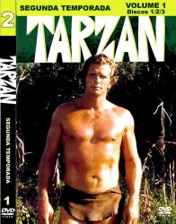 DVD TARZAN - RON ELY - 2 TEMP - 6 DVDs