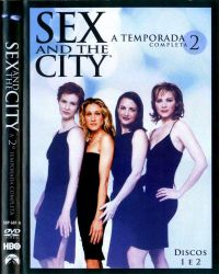DVD SEX AND THE CITY - 2 TEMP - 3 DVD
