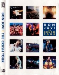 DVD BON JOVI THE CRUSH TOUR