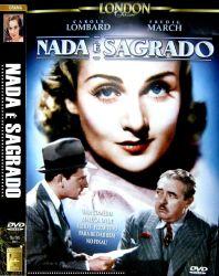 DVD NADA E SAGRADO - CAROLE LOMBARD