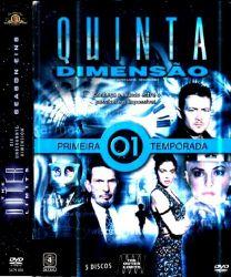 DVD QUINTA DIMENSAO  2007 - 1 TEMP - 5 DVDs