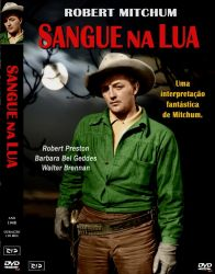 DVD SANGUE NA LUA - ROBERT MITCHUM