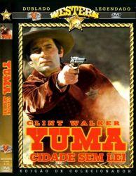 DVD YUMA CIDADE SEM LEI - CLINT WALKER