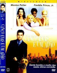 DVD CINCO EVAS E UM ADAO