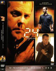 DVD 24 HORAS - 5 TEMP - 6 DVD