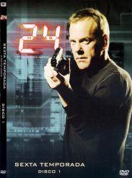 DVD 24 HORAS - 6 TEMP - 6 DVDS