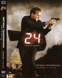 DVD 24 HORAS - 7 TEMP - 6 DVDS