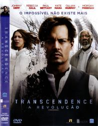 DVD TRANSCENDENCE - A REVOLUÇAO - JOHNNY DEPP