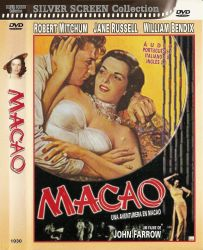 DVD MACAO - ROBERT MITCHUM