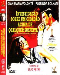 DVD INVESTIGAÇAO SOBRE UM CIDADAO ACIMA DE QUALQUER SUSPEITA