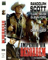 DVD IMPERIO DA DESORDEM - RANDOLPH SCOTT