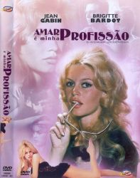 DVD AMAR E MINHA PROFISSAO - BRIGITTE BARDOT