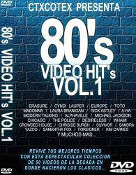 DVD VIDEO ANOS 80 VOL 1