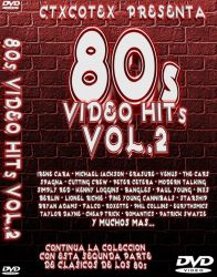DVD VIDEO ANOS 80 VOL 2