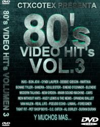 DVD VIDEO ANOS 80 VOL 3