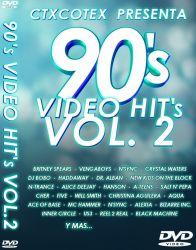 DVD VIDEO ANOS 90 VOL 2