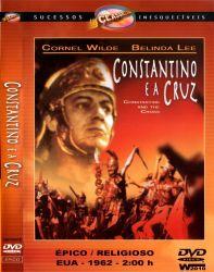 DVD CONSTANTINO E A CRUZ - 1962