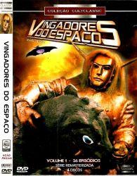 DVD VINGADORES DO ESPAÇO - VOL 1 - 4 DVDs
