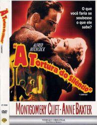 DVD A TORTURA DO SILENCIO - ALFRED HITCHCOCK