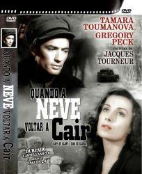DVD QUANDO A NEVE VOLTAR A CAIR - GREGORY PECK